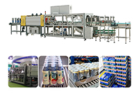 YCBS25ZT Tray + Shrink Film Packing Machine